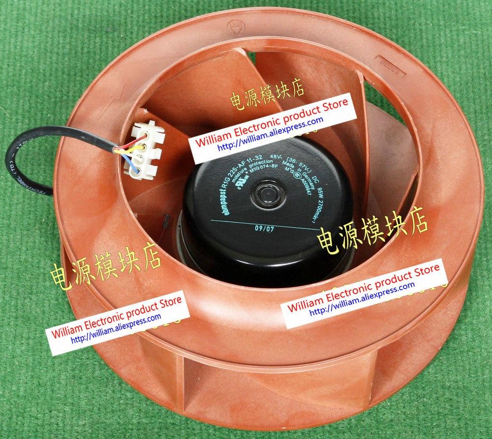 все цены на Original EBM PAPST R1G225-AF11-32 36-48V-57V 95W speed centrifugal cooling fan онлайн