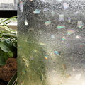 CottonColors PVC Waterproof Window TINT Films ,Premium No-Glue 3D Static Decorative Privacy Window Glass Sticker Size 45 x 200cm