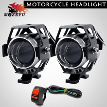 Bulb Super bright U5 LED light motorcycle rcycle auxiliary driving fog car
