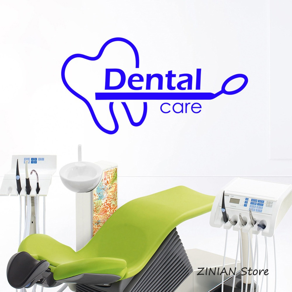 Buy Dental Wall Stickers And Get Free Shipping On AliExpresscom - Window decals for dental office