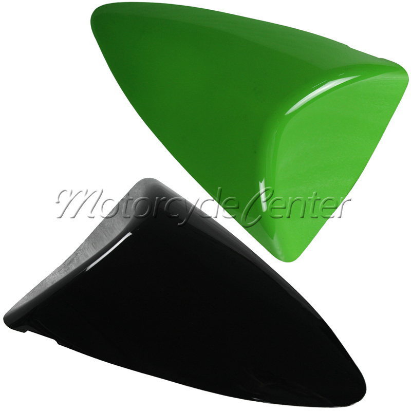 Hot Sale ABS Plastic Motorcycle Rear Seat Cover Cowl For Kawasaki ZX6R 636 ZX 6R 2007-2008 Green Black hot sale hot sale car seat belts certificate of design patent seat belt for pregnant women care belly belt drive maternity saf
