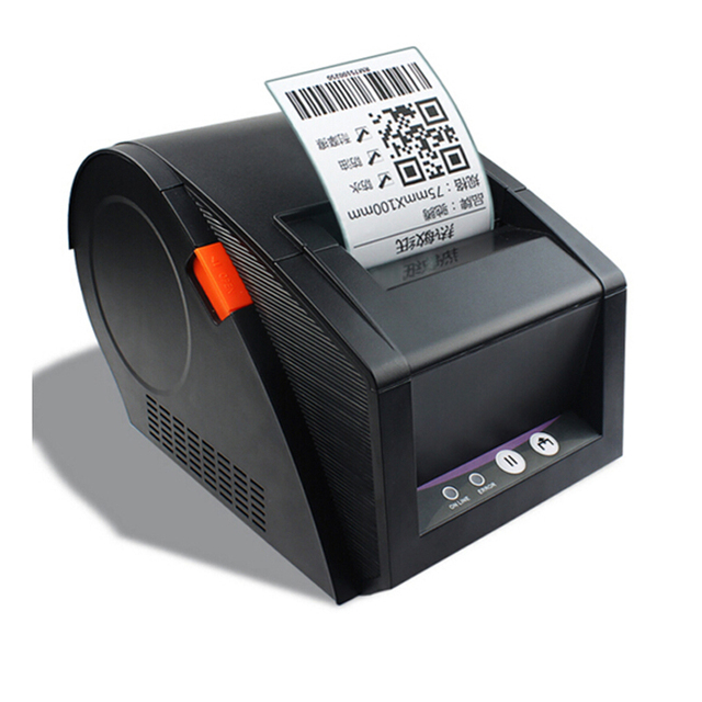 Black Label Price >> New 80mm barcode label printer 3120TU support QR code thermal sticker printers used for ...