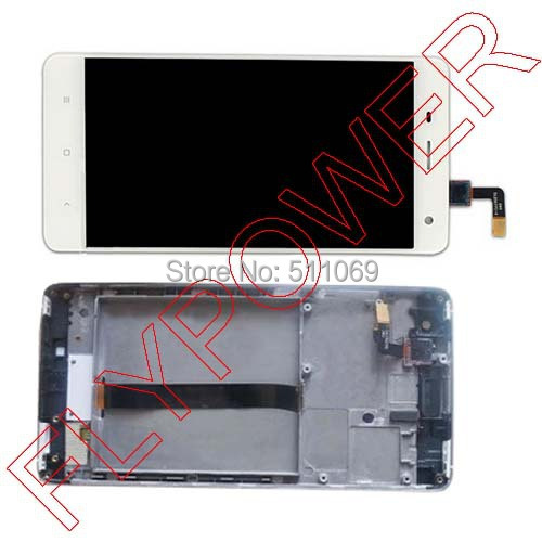 FOR Xiaomi 4 m4 mi4 xiao mi LCD screen Display + touch Screen Digitizer + frame Assembly by free shipping