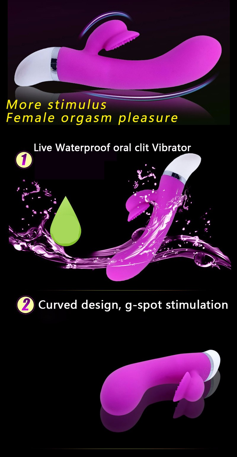 Sex Products Vibrators G Spot Vibrator Waterproof Adult Sex Toys For Woman Stimulator Oral Clit Vibrators for Women Erotic Toys 5
