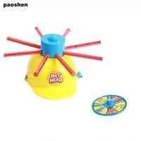 Yeni Anne Çocuk Islak Kafa Meydan Eğlenceli Su Rulet Aile Parti Prank Oyunları Oyuncaklar çocuk hediye Için Komik Gadgets
