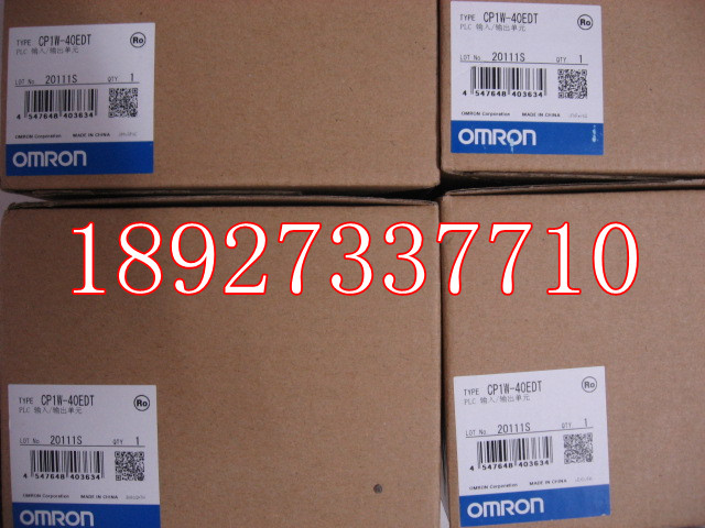 [ZOB] New original omron Omron programmable logic controller relay CP1W-40EDT [zob] 100% new original omron omron proximity switch e2e x10d1 n 2m
