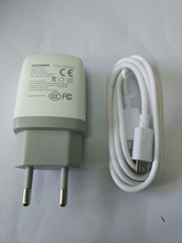 100%New  Doogee Travel Charger EU Plug Adapter+ USB Cable for DOOGEE DG750 DG850 DG280 DG900 DG2014 DG550 DG500 DG650