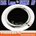 100% nova & atacado m42 lens para nikon d5200 d700 d300 d80 d70 d60 d40 d3 adaptador frete grátis
