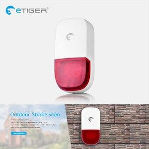 Image 4 - Etiger s4 sem fio gsm/pstn sistema de alarme segurança do assaltante em casa pir detector movimento ao ar livre com teclado sirene