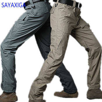 2018 new arrival good quality high end Tactical Pants Men Camouflage Multi-pocket Anti Scratch Water Proof Trousers Cargo Pants - DISCOUNT ITEM  34% OFF All Category