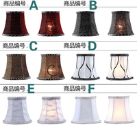Lighting Accessories Lamp Covers Different Color Lampshade For Lamps Chandelier Fabric Lampshade