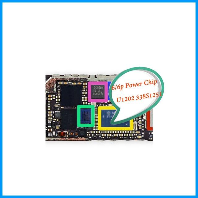 5pcs/lot Original for iphone 6 6 Plus 6plus Big Main Large Power Mangement PMIC PMU Controller IC Chip