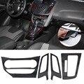 Интерьер автомобиля Центральной Консоли Углеродного Волокна Формования Наклейки Наклейка для 2012 2013 Ford Focus 3 MK3 ПРИ Автоматической Стайлинга Автомобилей