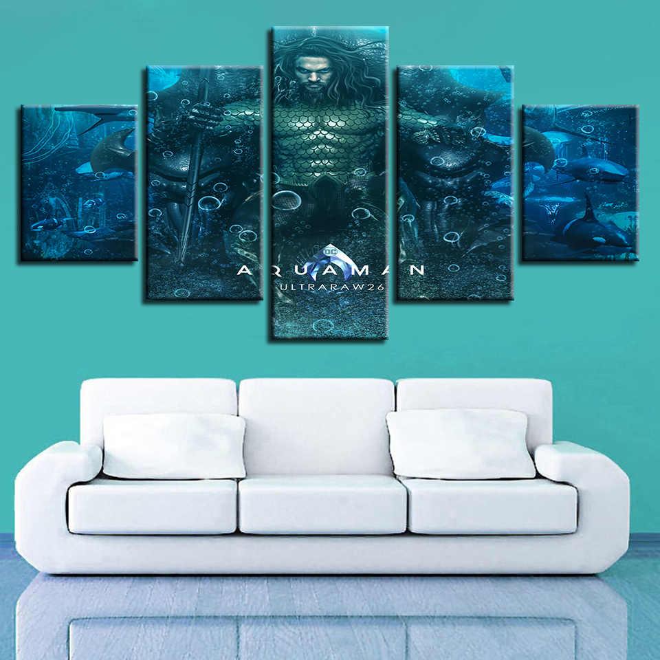 God of War Ascension Aquaman movie guerreiro Arte Da Parede Da Lona Pinturas de Mitologia Grega Pictures Home Decor HD Imprime Cartazes