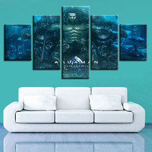 God of War Ascension Aquaman movie warrior Wall Art Canvas Paintings of Greek Mythology Pictures Home Decor HD Prints Posters(China)