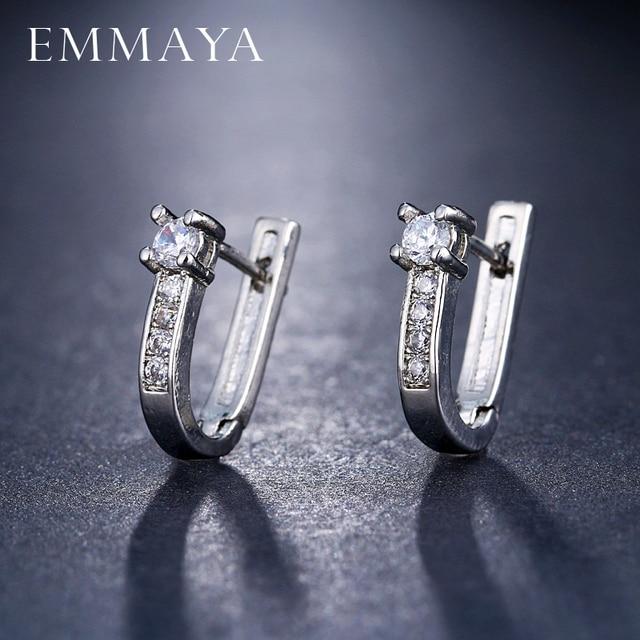 EMMAYA Wholesale Cheap Brincos Earrings Delicate Cute Cz Tiny Mini Earring Girl