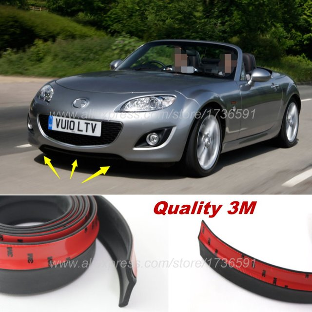 bumper lip deflector lips for mazda mx 5 mx5 mx 5 miata. Black Bedroom Furniture Sets. Home Design Ideas