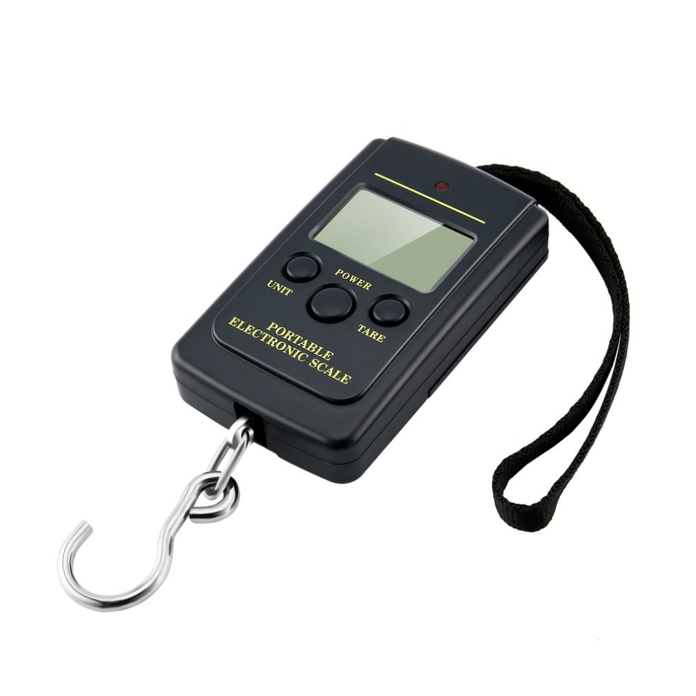 Fishing-Scale Hanging Weighting Load Multi-Used Digital 40kg Mini Electronic Pocket LCD