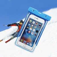 Wasserdicht Fall Für Handy Trockenen Transparent Tasche Touchscreen Unter Wasser Fall Für Xiao mi mi A1 A2 5C red mi Hinweis 5A Funda 5X