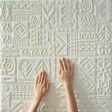 Hot selling ceiling creative design 3D foam wall sticker house decoration and