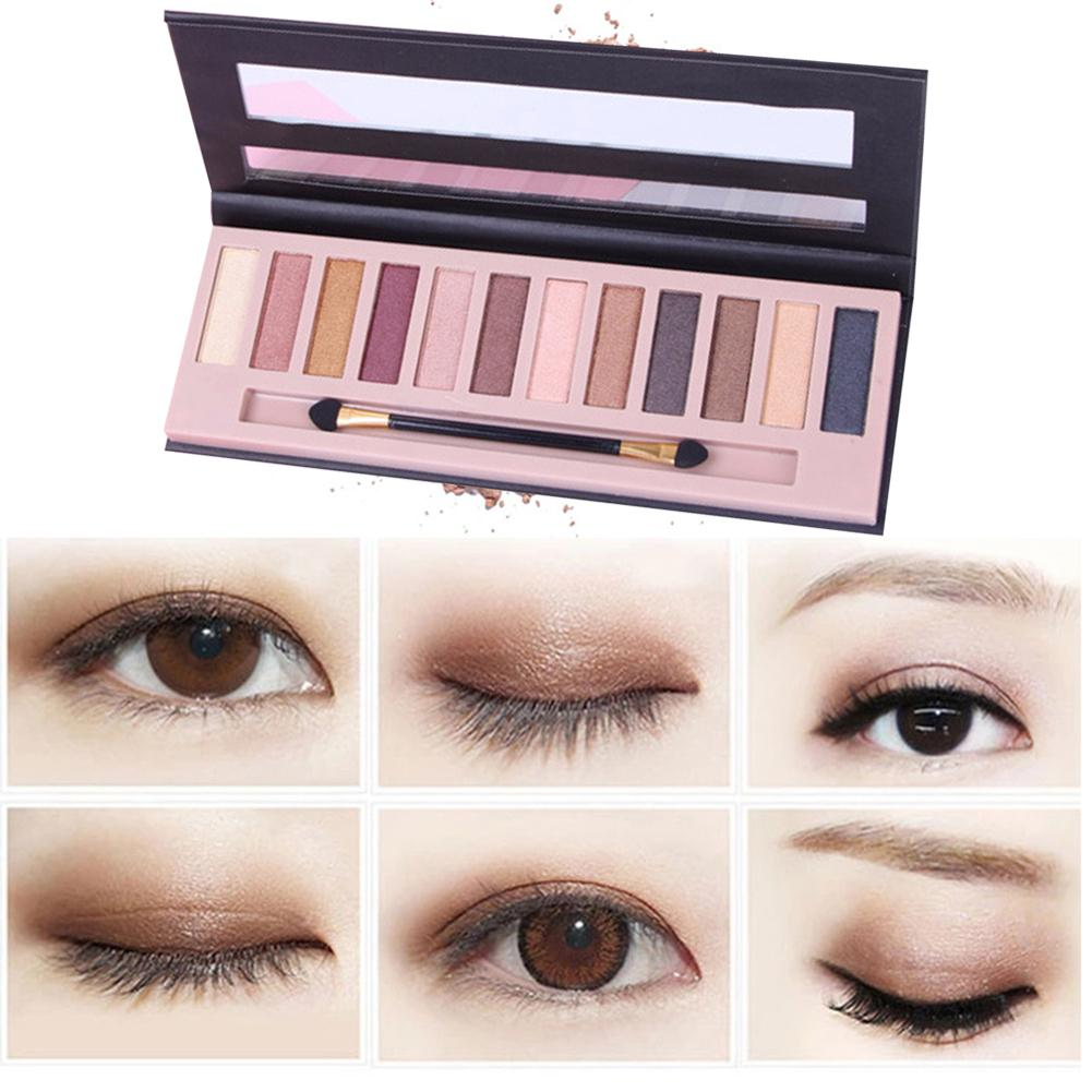 Beauty & Health Lameila 16 Colors Natural Makeup Eye Shadow Pearlescent Matte Earth Tone Makeupbrighten Skin Colour Dress Up Your Beauty Eye Shadow