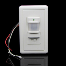 Free shopping 110v-130v Max 10 minutes delay Wall Mount Motion Sensor Automatic PIR Infrared Sensor Light Switch 9m Max UL Style