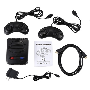 Image 3 - Powkiddy Hd Hdmi 16 Bit Retro Classic Console Video Game For Sega Console Pal/Ntsc Support Extra Cartridges Available 4K Tv Us