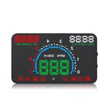 цены на E350 5.8 inch Screen HUD Auto Car Head Up Display Engine Fault Fuel Alarm Overspeed Alarm Fuel Consumption display hud projector  в интернет-магазинах