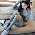 Spring Autumn 40D Seamless GRAY Pantyhose Solid Color Women's Stockings Thin Female Tights WZ818
