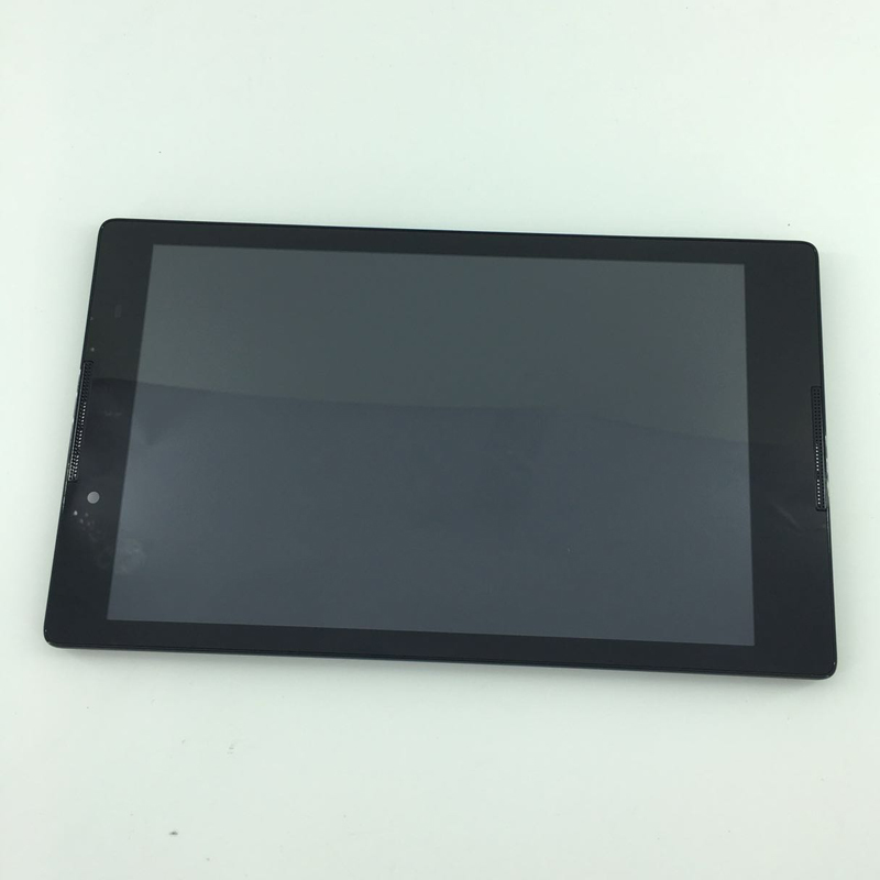 used parts 8 LCD display + touch screen digitizer Assembly with frame For Lenovo Tab 2 A8-50 A8-50F A8-50LC black no logo