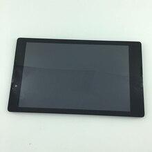 """Piezas usadas 8 """"pantalla LCD + pantalla táctil digitalizador Asamblea con marco Para Lenovo Tab 2 A8-50 A8-50F A8-50LC negro sin logotipo"""
