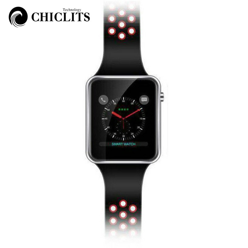 CHICLITS 2018 NEW M3 Bluetooth Smart Watches With Camera Suport SIM Card Sport Watch Passometer Information Push For Android