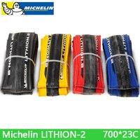Michelin LITHION-2 צמיג אופניים חלקים לקפל 700 * 23c צמיג אופני כביש צמיג הוכחת איכות גבוהה נוחה משלוח חינם