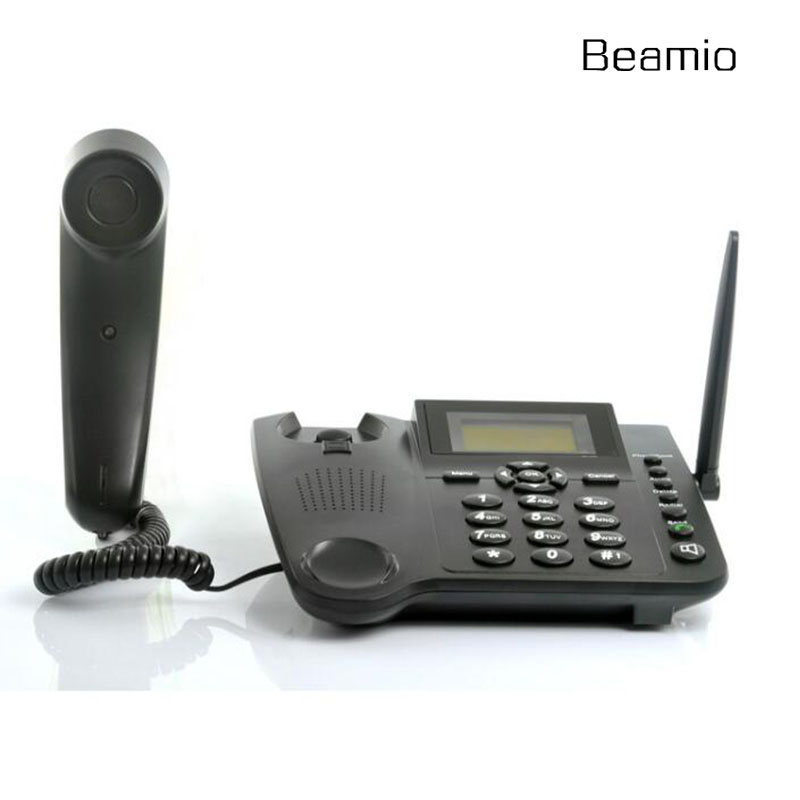 GSM850 900 Wireless Fixed Telephone With SIM Card For Home Office Bussiness Support Handfree Caller ID