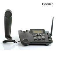 GSM850 900 Wireless Fixed Telephone With SIM Card For Home Office Bussiness Support Handfree Caller ID Radial Telefone Black