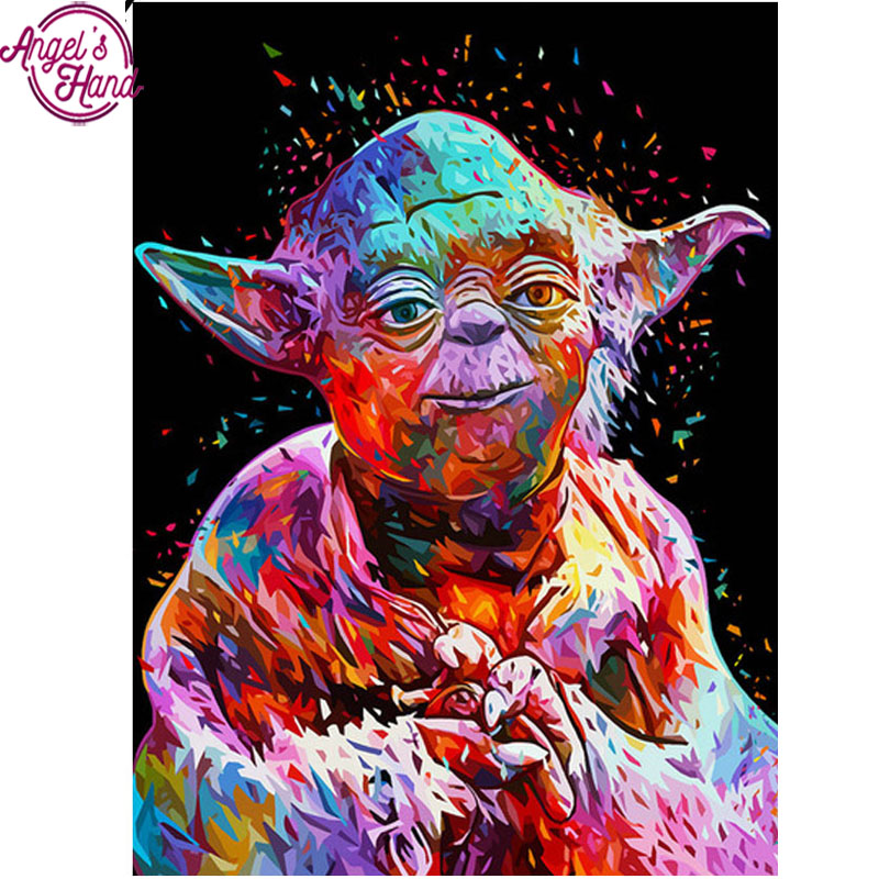 New 5d Rhinestones Diy Diamond Mosaic Diamond Painting Cross Stitch Kits Full square Drill Diamond Embroidery Star Wars