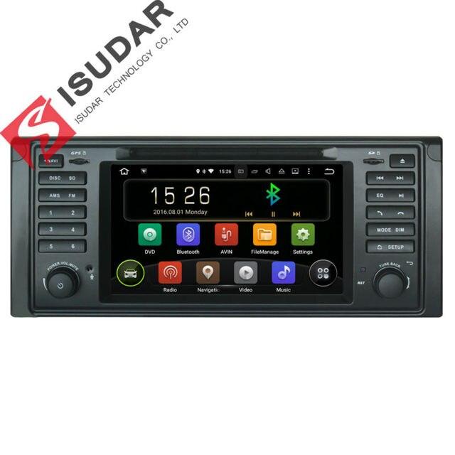 Android 5.1.1! 7 Дюймов В Тире Автомобиля Dvd-плеер Мультимедиа Для BMW E39/X5/E53 С Canbus Wi-Fi GPS навигация Радио FM