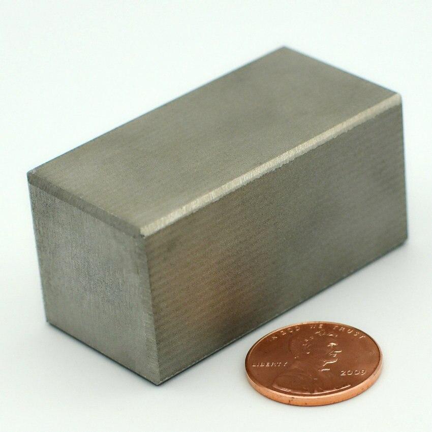 1 шт. SmCo Магнитный блок 2 ''x'' индивидуальные YXG28H 350 градусов C высокой температура сильный магнит постоянный редкоземельных магнитов