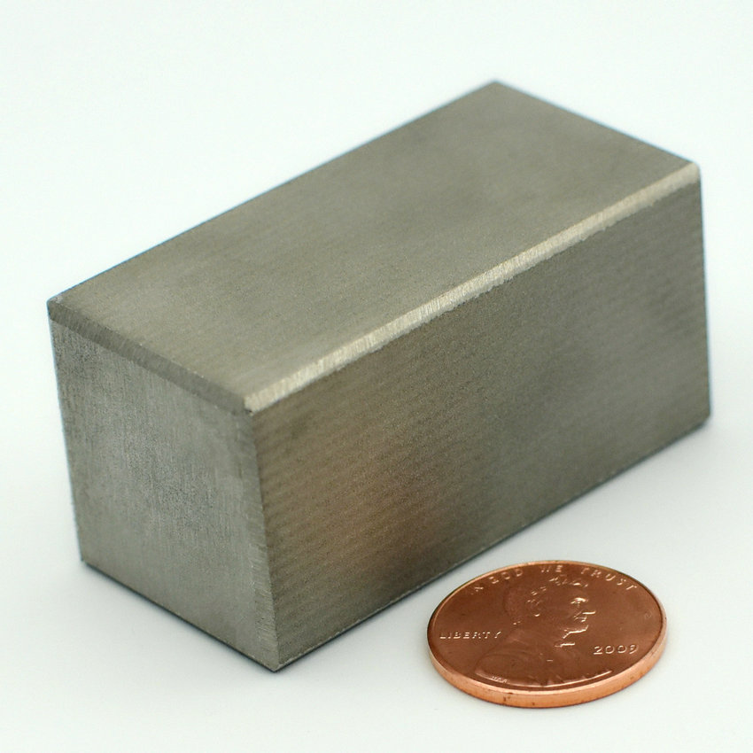 1pc SmCo Magnet Block 2''x1''x1'' Customized YXG28H 350 Degree C High Temperature Strong Magnet Permanent Rare Earth Magnets 1pc smco magnet block 3 x1 x1 customized 76 2x25 4x25 4 mm yxg28h 350 degree c high temp strong permanent rare earth magnets