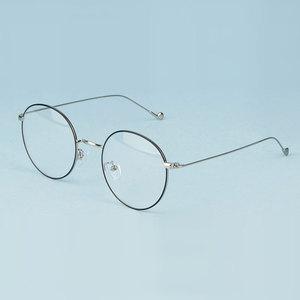 Image 4 - Gmei אופטי אופנתי Urltra אור סגסוגת Eyewear עבור נשים & גברים קוצר ראיה קריאת משקפיים עגולים משקפיים A1507
