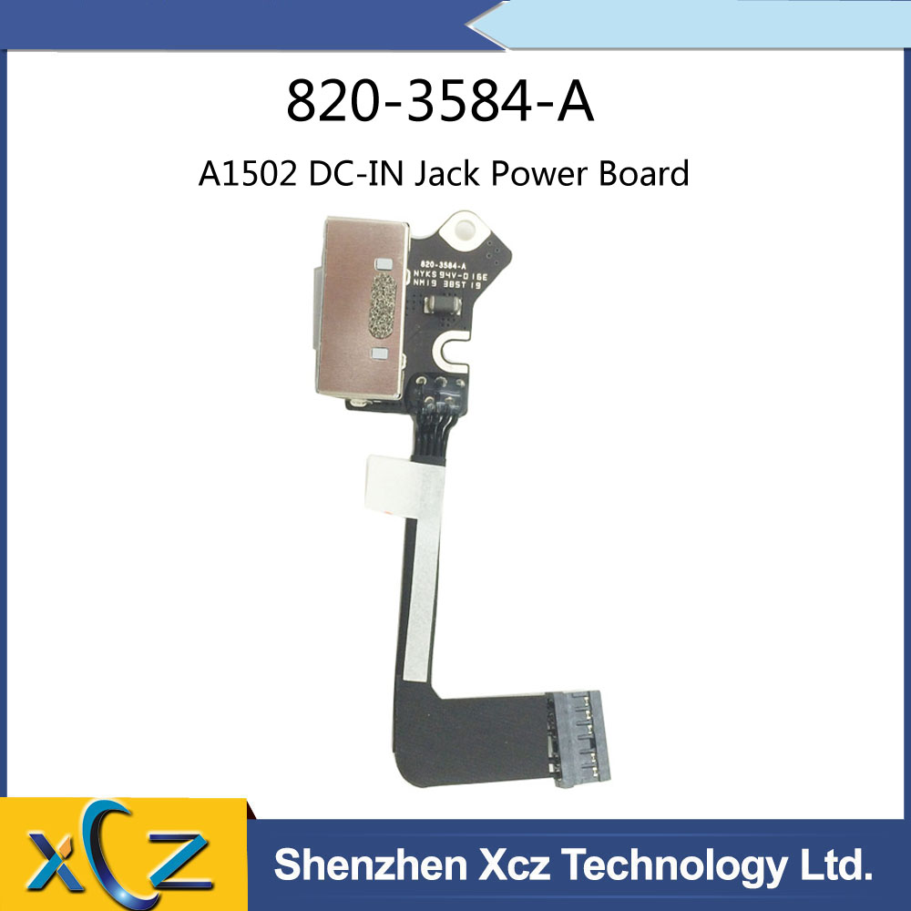 """Power DC Jack Board for Apple MacBook Pro 15/"""" Retina A1398 2012 2013 820-3584-A"""