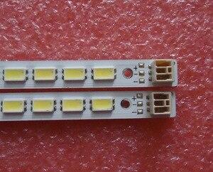 Image 1 - 2 pezzi/lotto PER TCL L46E5200 3D Articolo lampada LJ64 03035A schermo LTA460HQ12 1 pezzo = 72LED 520 MILLIMETRI 100% NUOVO