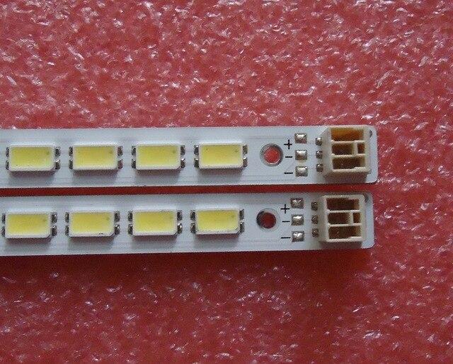 2 pezzi/lotto PER TCL L46E5200 3D Articolo lampada LJ64 03035A schermo LTA460HQ12 1 pezzo = 72LED 520 MILLIMETRI 100% NUOVO