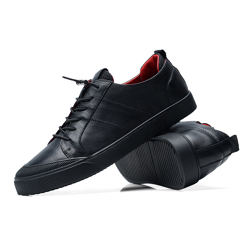 Мужская повседневная обувь кожаная - Мужская обувь - Фотография 4