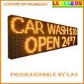 76 inch P10 Открытый водонепроницаемый Программируемый СВЕТОДИОДНЫЙ ЗНАК 24 h КРАСНЫЙ Цвет Мобильных и фиксированных рекламное Сообщение светодиодный дисплей Кабана