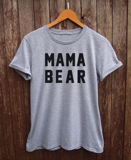 Mama Bear Tshirt Slogan Shirts Funny Mom Giftsmom Birthday Gift More Size And