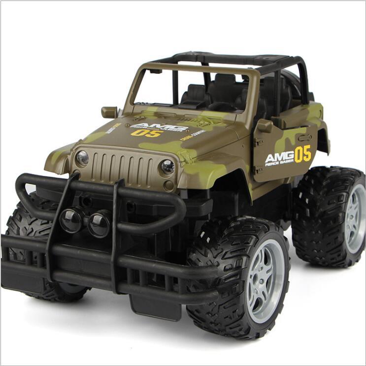 30 cm adultes enfants jouets 1:16 4 canaux 2.4G haute vitesse télécommande RC hummer escalade voiture de fond