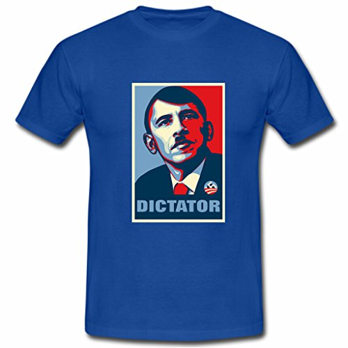 Printed Pure Cotton 39 S Men 39 S Short Obama Crew Neck Fashion 2017 Tee Shirts in T Shirts from Men 39 s Clothing