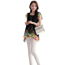New Fashion Women blouse Chiffon Blouse Tops