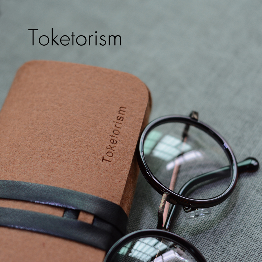 Eynək üçün Toketorism Retro Eynək çantası Ultralight portativ - Geyim aksesuarları - Fotoqrafiya 3
